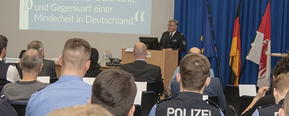 Eröffnung durch Fachhochschulpräsident Grieger