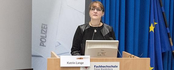 Frau Staatssekretärin Katrin Lange, MIK