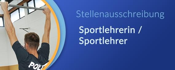 Stellenausschreibung Sportlehrer/-in