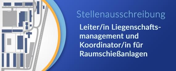 Leiter/in Liegenschaftsmanagement und Koordinator/in für Raumschießanlagen