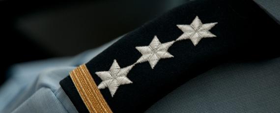 Schulterklappe Ratsanwärter (Beispiel)