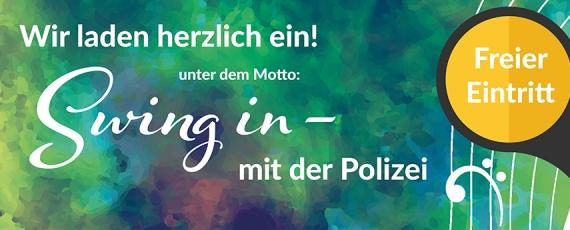 Swing in - mit der Polizei