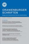 Cover Oranienburger Schriften Nr. 1/2007