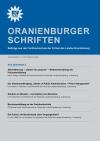 Cover Oranienburger Schriften Nr. 2/2008