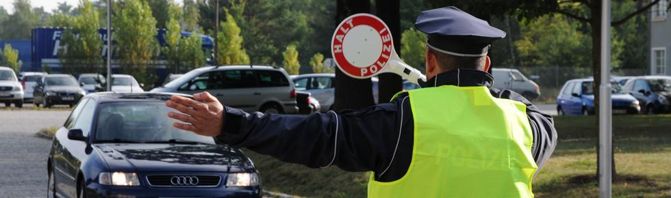 Praxisnahe Ausbildung - Verkehrskontrolle